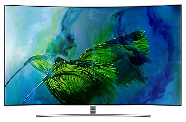 QLED Curved Smart TV SAMSUNG QA55Q8CAMKXXT